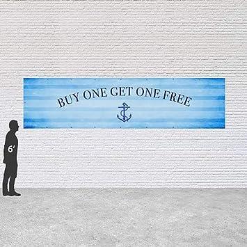 Chalk Banner Heavy-Duty Outdoor Vinyl Banner Buy One Get One Free CGSignLab 9x6