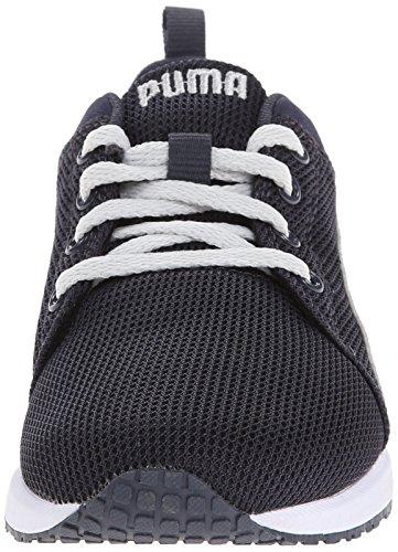 PUMA Carson Runner JR Sneaker (Little Kid/Big Kid) New Navy/Gray Violet mm8qcs29b