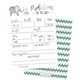 50 Elephant Advice and Prediction Cards for Baby Shower...