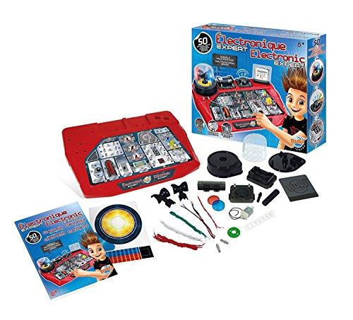 (Buki Electronics Expert Basic Circuit Board Building Kit for Kids)