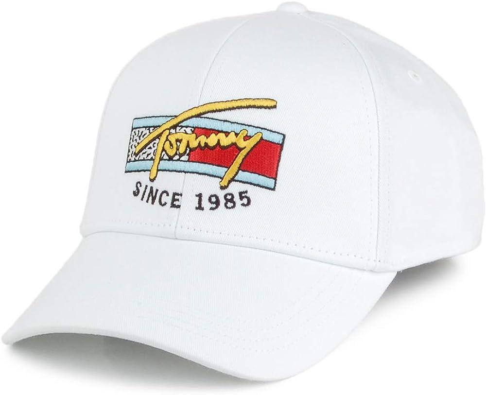 Tommy Hilfiger Gorra de béisbol TJM Colour Logo Blanco - Ajustable ...
