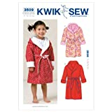 Kwik Sew K3509 Robes Sewing Pattern, Size T1-T2-T3-T4