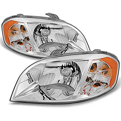 Amazon.com: AKKON For 2007 2008 2009 2010 2011 Chevy Aveo 4 Door Sedan LH Left & RH Right Both Side Headlights Pair Set: Automotive