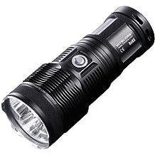 NiteCore Tiny Monster Triple Cree XML U2 LED Flashlight, Black