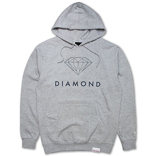 Diamond Supply Co Futura Sign Hoodie Grey by Diamond Supply Co