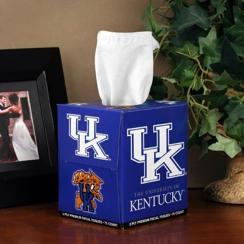 NCAA Kentucky Wildcats Box of Sports Tissues Kentucky Wildcats Tissue