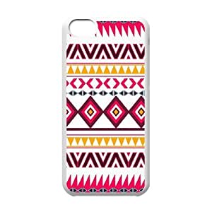 EZCASE Aztec Tribal Phone Case For Iphone 5C [Pattern-1]