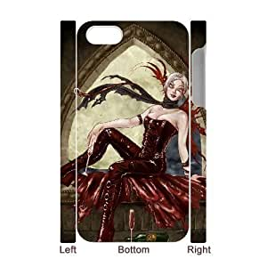 Custom Moon people Case for Iphone 4,4S with She Waits yxuan_9759849 at xuanz