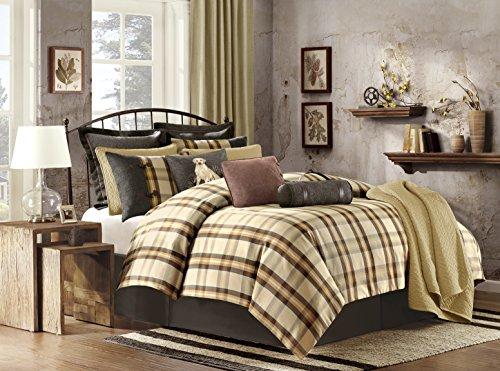 Woolrich Oak Harbor Comforter Set, King, Multi