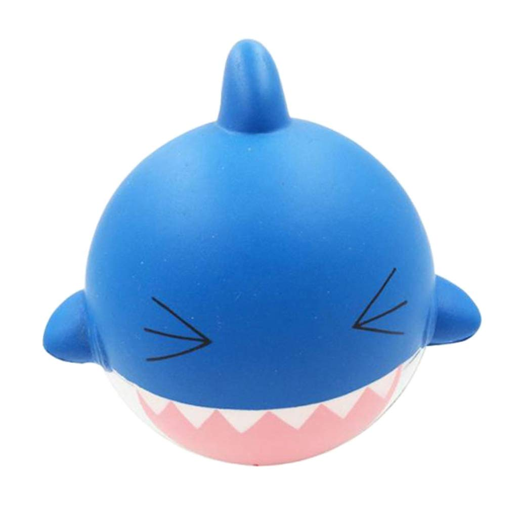 IPOTCH 1 Pieza Squishy Squeeze Juegos para Niños Tiburón Alivia Dolor Suave Cómodo