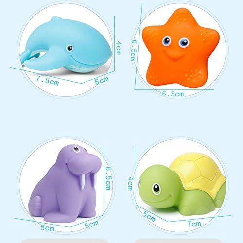 ZREAL Juego de juguetes de nataci/ón para ni/ños y ni/ños para recoger peces y juegos de color para cambiar el agua ba/ñera y pesca