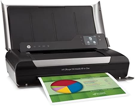 Hp Officejet 150 Mobile All In One Inkjet Printer Copy Print Scan Electronics