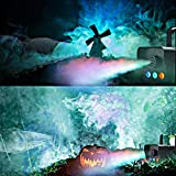 Fog Machine with LED Lights, softeen Party Smoke