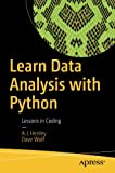 img - for Learn Data Analysis with Python: Lessons in Coding book / textbook / text book