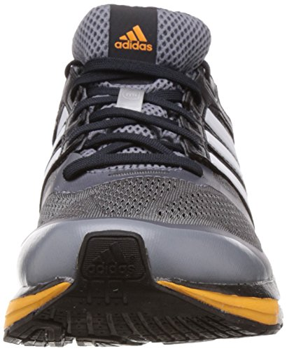 Adidas Supernova Glide 6 - Zapatillas de running para Hombre Grey/Core White/Neon Orange