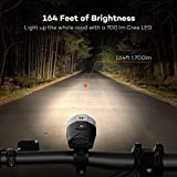 TaoTronics-TT-HP007-LED-Bike-Lights-Front-Back-700-Lumens-Bicycle-Lights-Rechargeable-Bike-Light-Set-Bike-Headlight-IP65-Waterproof-Cree-LED-Free-Tail-Light-Helmet-Mount-Include