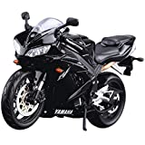 Yamaha R1 Motorcycle Model, Ratio 1:12, Static Simulation Alloy Die-Casting Car, Best Model Gift Collection Series
