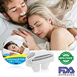 Snoring Solution,Anti Snoring Devices Snore Nasal Dilator Nose Vents Clip Air Purifier Snore Stopper Best Snoring Aids Snore Reducing Sleep Aids Stop Snoring Vents for Ease Breathing Men Women (white)