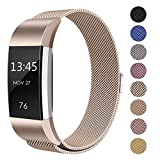 SWEES Metal Bands Compatible Fitbit Charge 2, Milanese...
