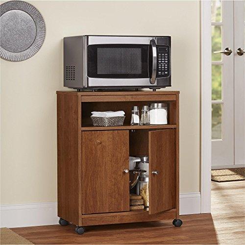 Ameriwood Home Landry Microwave Cart, Brown Oak by Ameriwood Home (Image #5)