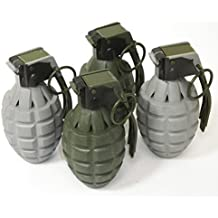 Toy Pineapple Hand Grenades with Sound Effects - 4 Pack
