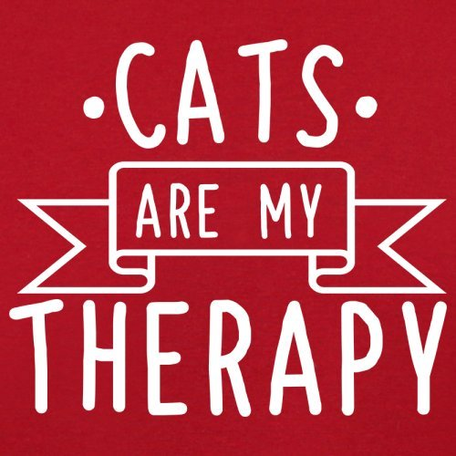 Retro Cats Red Is Is My Bag My Cats Therapy Red Therapy Flight x06n7qOg7w