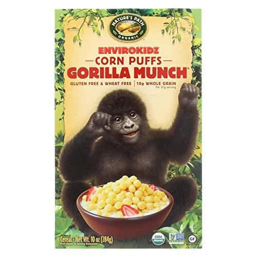 Envirokidz Organic Corn Puff - Gorilla Munch - Case of 12 - 10 - Organic Gorilla Envirokidz