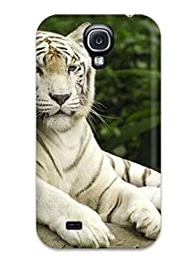 Belva R. Fredette's Shop 7827978K24144224 Snap-on White Tiger, Singapore Case Cover Skin Compatible With Galaxy S4