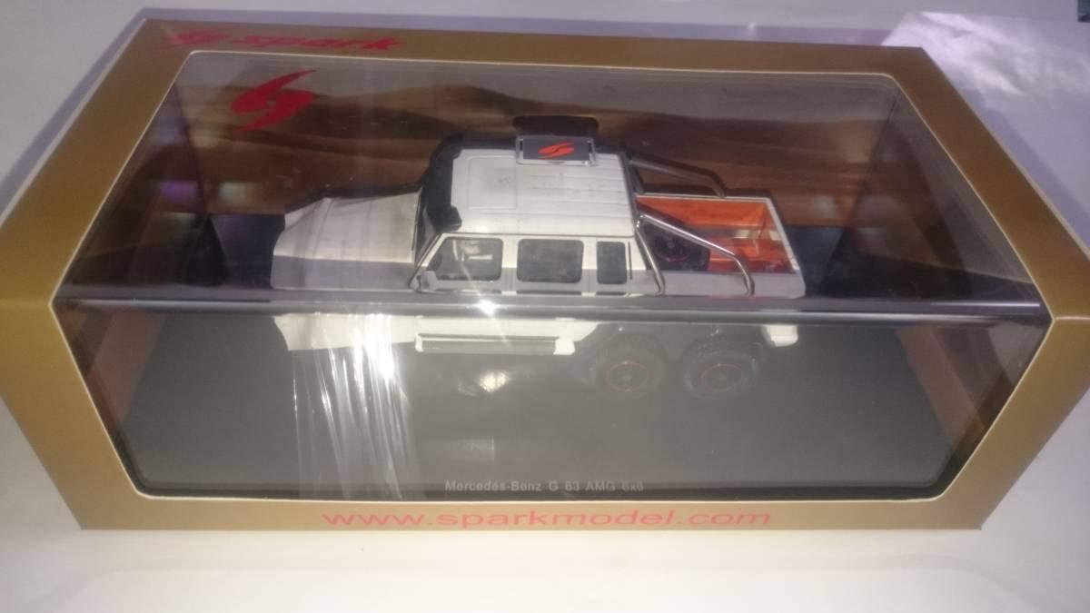 スパーク 1/43 メルセデス ベンツ G63 AMG 6×6 ホワイト B07SQF6RVM