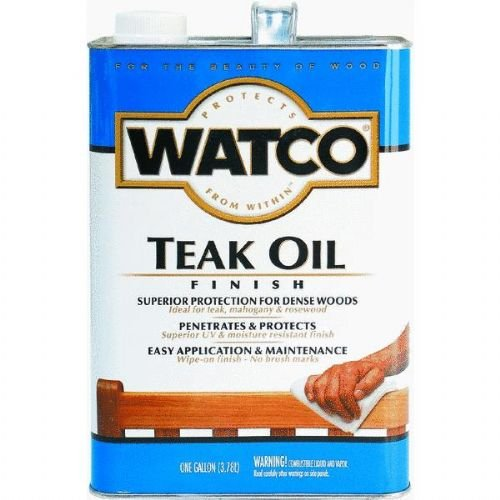 RUST-OLEUM  242225 Watco Teak Oil VOC Gallon ()