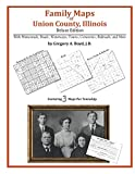 Family Maps of Union County, Illinois by Gregory A. Boyd front cover