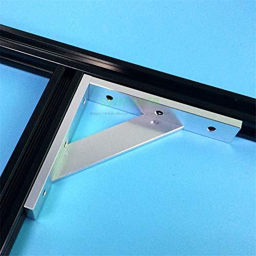 Zamtac Upgrade Anodized Aluminum Frame Reinforcing 2020 Cross Profile Corner for V-Slot Tronxy X3 Tevo Tarantula 3D Printer - (Color: - Aluminum Cross Corner Anodized