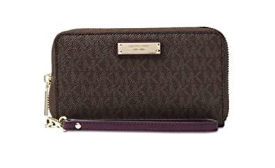 Amazon.com: Michael Kors Womens Jet Set Travel Logo ...