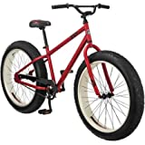 26' Mongoose Beast Men's Fat Tire Mountain, Red Colour
