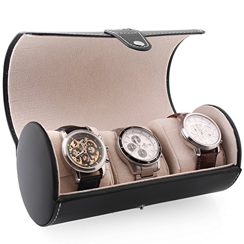 homitex-travel-leatherette-roll-watch-storage-organizer-for-3-watch-perfect-gift-black