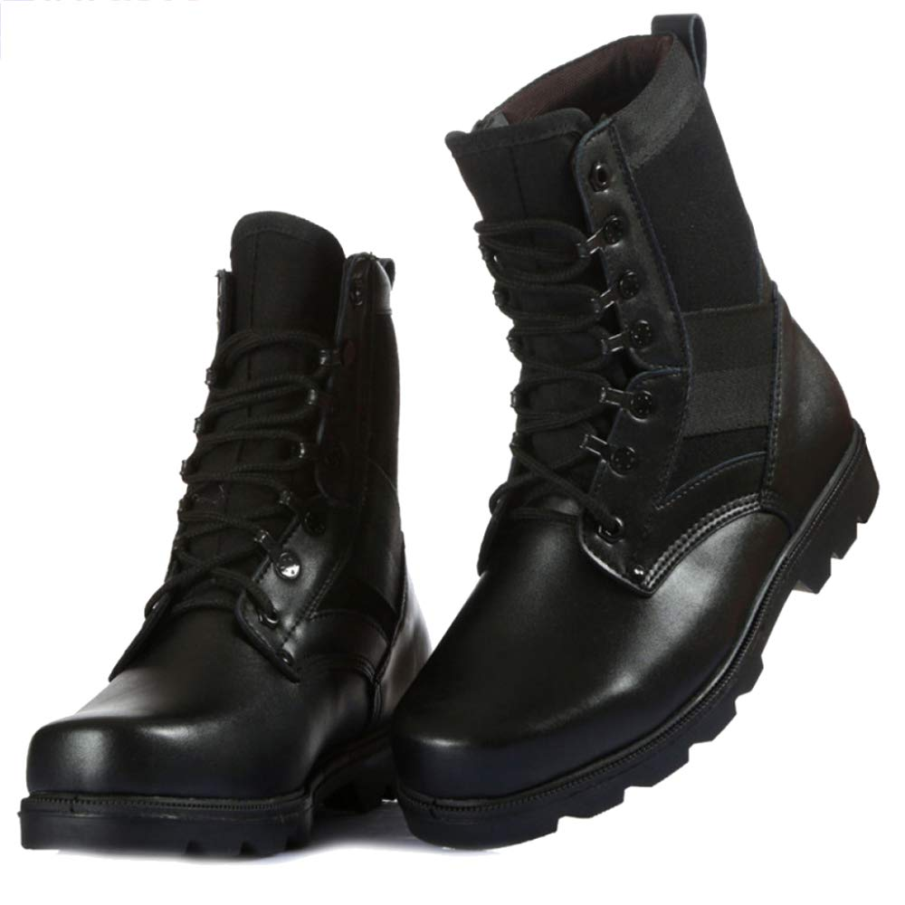 45dc2aacf4c80 Amazon.com: SHANHEYY Men's Martin Boot Army Military Tactical Boots ...