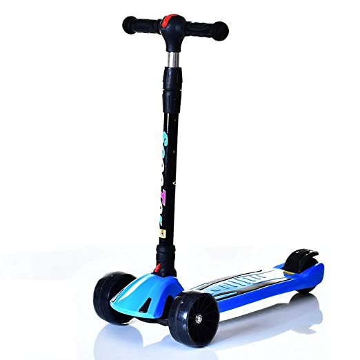 CHHMAELOVE Patinete De 3 Ruedas Scooter con Led Luces ...