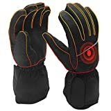 Best Cold Weather Hunting Gloves - Winter Ski Gloves Battery Heated Gloves for Men Review