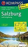 Salzburg und Umgebung 1 : 25 000: Wanderkarte mit Kurzführer und Radwegen. GPS-genau
