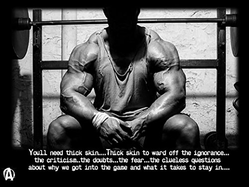 bodybuilding-fitness-motivation-motivational-fabric-cloth-rolled-wall-poster-print-size-17-x-13