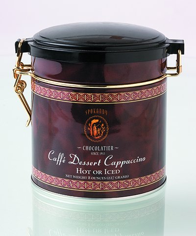 Spokandy Chocolatier Dessert Coffee (Dessert Cappuccino Hot or Iced)