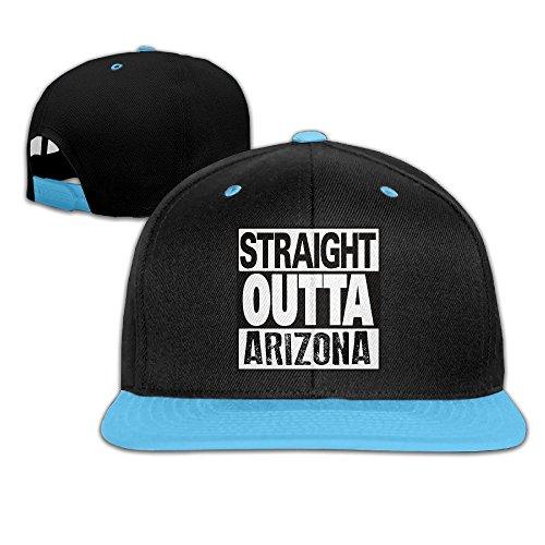 Straight Outta Arizona Hip Hop Adjustable Children Unisex Cap RoyalBlue (Cast And Crew Of 50 Shades Of Grey)