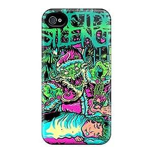 Unique Design Iphone 4/4s Durable Tpu Case Cover Suicide Silence