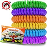 12 Pack Mosquito Repellent Bracelet Band - [INDIVIDUALLY WRAPPED] Premium Pest Control Insect Bug Repeller - Natural Indoor/Outdoor Insects - Best Products with NO Spray for Men, Women, Kids Children