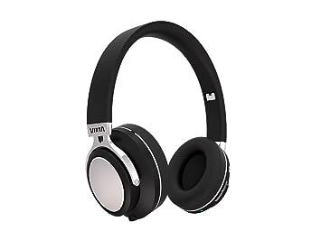 Vieta VHP-BT380BK - Auricular de Diadema con Bluetooth, Color Negro: Amazon.es: Electrónica