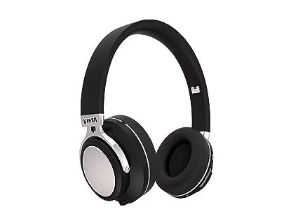 Vieta VHP-BT380BK - Auricular de Diadema con Bluetooth, Color Negro