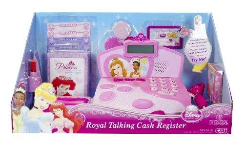 Disney Princess Talking Cash Register (Disney Princess Royal Talking Cash Register by Disney Princess)