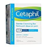 Cetaphil Gentle Cleansing Bar (Pack of 3), 127g, 3 Count