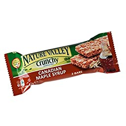 Nature Valley Canadian Maple Syrup (42g x 18)