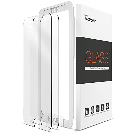Amazon Trianium Iphone 7 Tempered Glass Screen Protector 2
